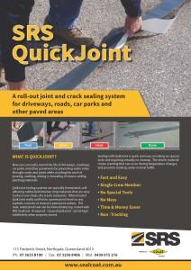 QuickJoint flyer